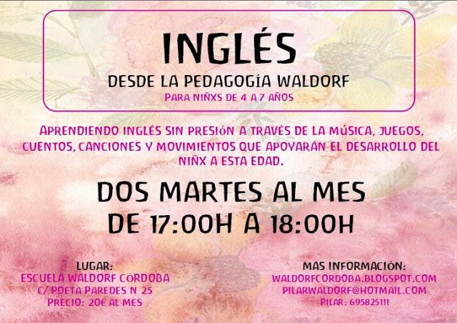 TALLER INGLÉS DESDE LA PEDAGOGÍA WALDORF 2017-18