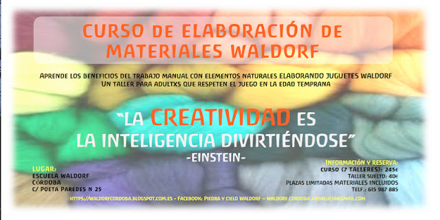 CURSO DE ELABORACIÓN DE MATERIALES WALDORF