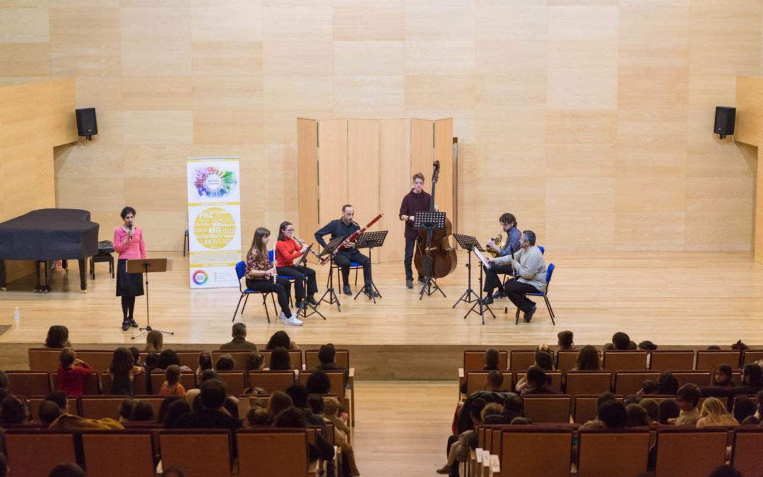 Más de 400 euros recaudados gracias al concierto «El árbol generoso»