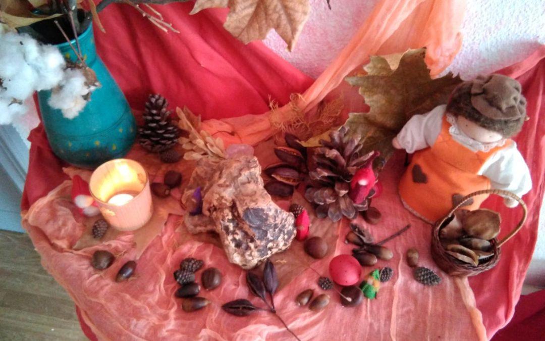 La mesa de estación: ha llegado el otoño