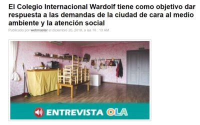 Entrevista en la radio Onda Local Andalucía