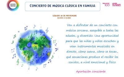 CONCIERTO DE MÚSICA DE CÁMARA EN FAMILIA