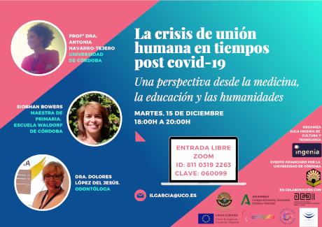 WEBINAR: La crisis de unión humana en tiempos post-COVID -19